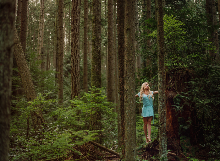 vancouver portrait, fashion, forest, film, kodak, contax, hasselblad, photography, flare, Gabe McClintock | www.gabemcclintock.com