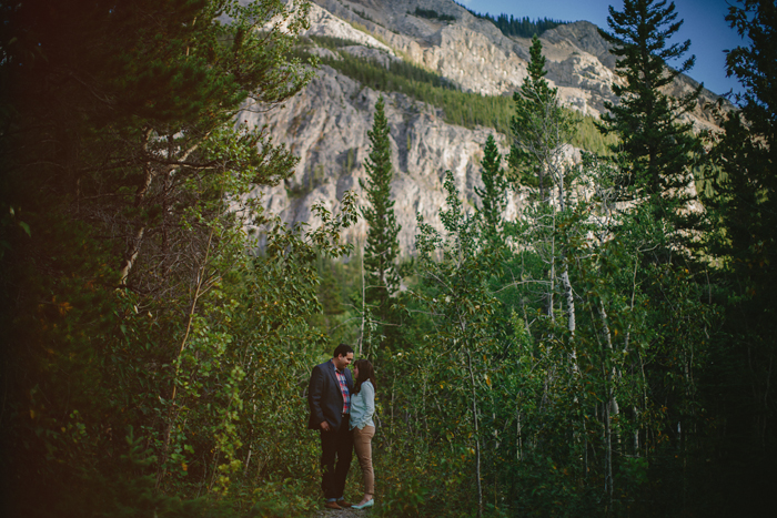 kananaskis, photography, connection, engagement, embrace, couples, wedding, love, mountains, Barrier lake, Alberta, ©Gabe McClintock | www.gabemcclintock.com