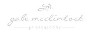 BLOG . G A B E . M C C L I N T O C K logo